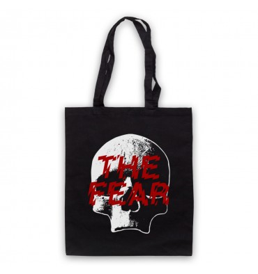 The Fear Skull Large Logo Tote Bag