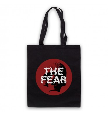 The Fear Red Circle Large Logo Tote Bag
