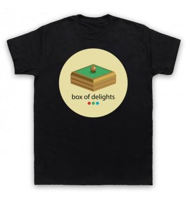 Box Of Delights Circle Large Logo T-Shirt