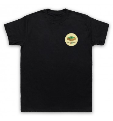 Box Of Delights Circle Left Chest Logo T-Shirt