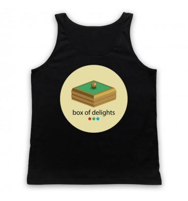 Box Of Delights Circle Large Logo Tank Top Vest