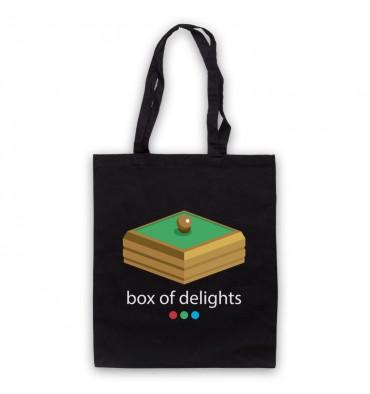 Box Of Delights Logo Tote Bag