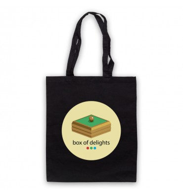 Box Of Delights Circle Large Logo Tote Bag