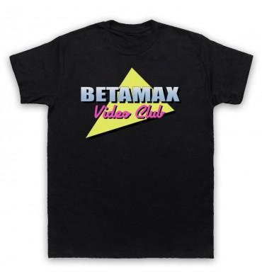 Betamax Video Club Logo T-Shirt