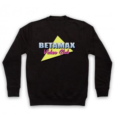 Betamax Video Club Logo Sweatshirt