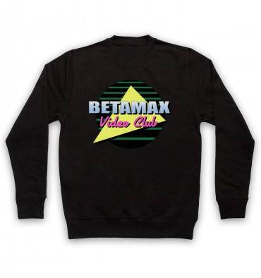 Betamax Video Club Circle Logo Sweatshirt