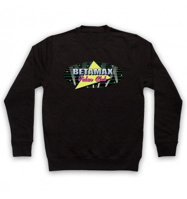 Betamax Video Club Spotlight Logo Sweatshirt