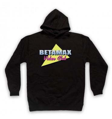 Betamax Video Club Logo Hoodie