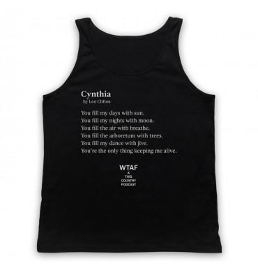 Len's Poem For Cynthia Tank Top Vest