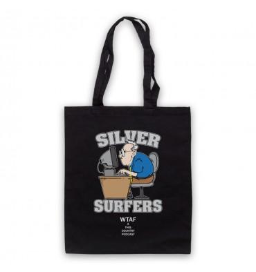 Silver Surfers Internet Club Tote Bag