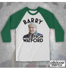 Barry From Watford Photo Baseball Tee
