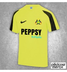 PES United Neon Yellow Training Kit Shirt