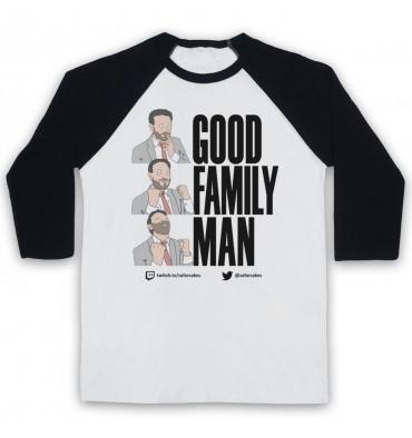 PES United Good Family Man Baseball Tee