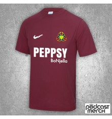 PES United Burgundy Away Football Shirt