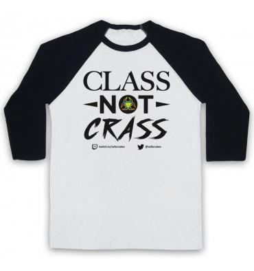 PES United Class Not Crass Baseball Tee