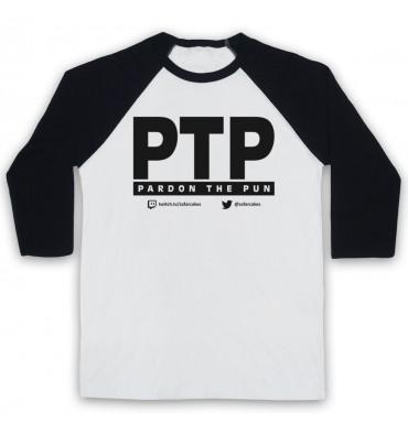 PES United PTP Pardon The Pun Baseball Tee
