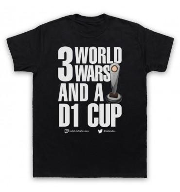 PES United 3 World Wars And A D1 Cup T-Shirt