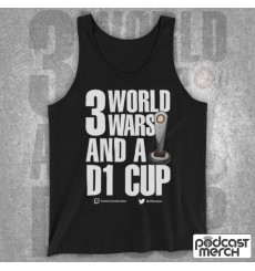 PES United 3 World Wars And A D1 Cup Tank Top Vest
