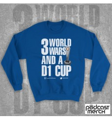 PES United 3 World Wars And A D1 Cup Sweatshirt