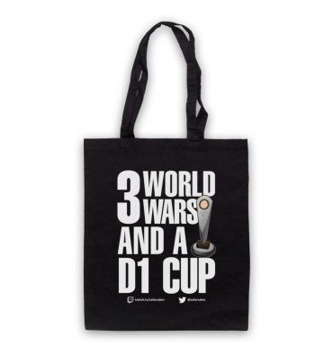 PES United 3 World Wars And A D1 Cup Tote Bag