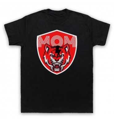 Mouth Of Manliness Tiger Logo T-Shirt