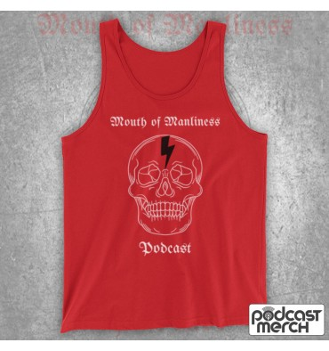 Mouth Of Manliness Skull Logo Tank Top Vest