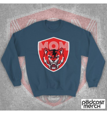 Mouth Of Manliness Tiger Logo Sweatshirt