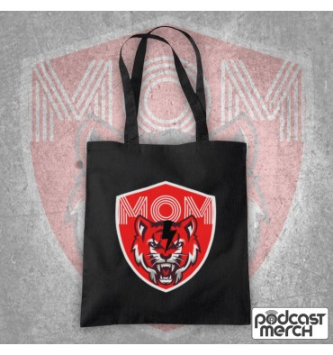 Mouth Of Manliness Tiger Logo Tote Bag