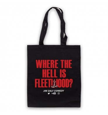 Where The Hell Is Fleetwood? Tote Bag