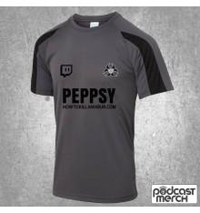 PES United Charcoal & Black Training Shirt