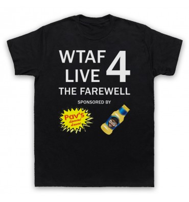 WTAF A This Country Podcast Live 4 The Farewell T-Shirt