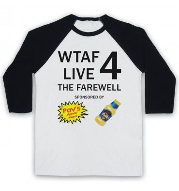 WTAF A This Country Podcast Live 4 The Farewell Baseball Tee