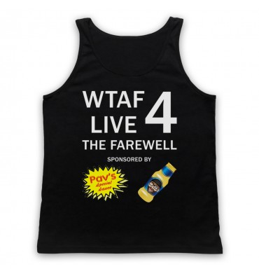 WTAF A This Country Podcast Live 4 The Farewell Tank Top Vest