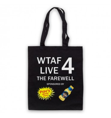 WTAF A This Country Podcast Live 4 The Farewell Tote Bag