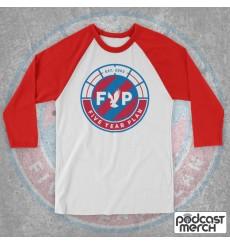 FYP Podcast Circle Logo Baseball Tee