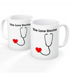 The Love Doctor Stethoscope Mug