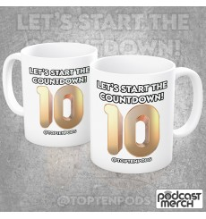 The Top 10 Of Anything Let's Start The Countdown Mug