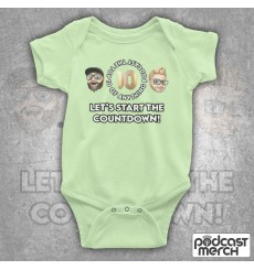The Top 10 Of Anything Pav & Neil Logo Baby Grow
